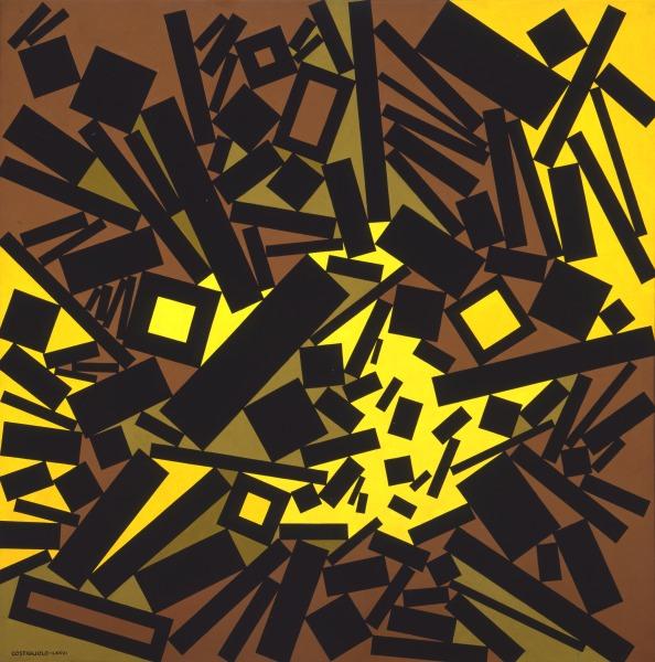 José Pedro Costigliolo, Rectángulos y  cuadrados CLXIV, 1976