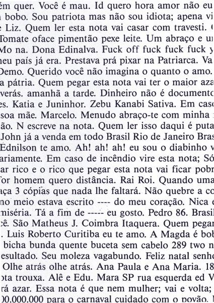 Jac Leirner, O Livro (dos cem), 1987